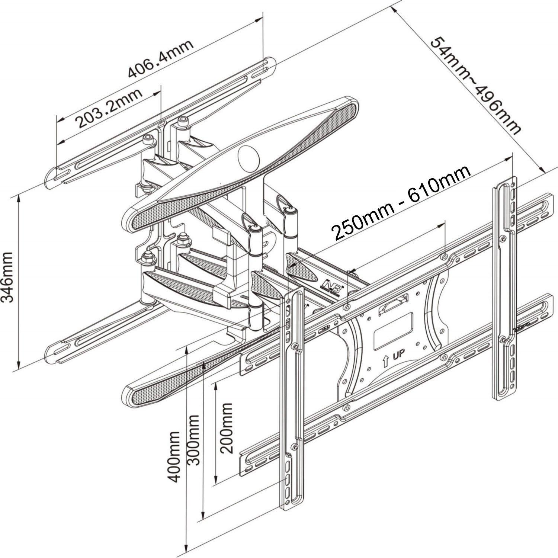 8 modelle 1 klarer testsieger tvs wandhalterung test 08 2019. Black Bedroom Furniture Sets. Home Design Ideas
