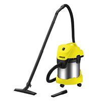 Kärcher WD 3.300 M - vacuum cleaners (Drum, professional, plastic, Black, Grey, Yellow, Dry&Wet, 220 - 240 V).