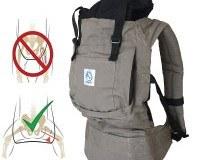 Babytrage-für-die-Durchführung-Ihres-Babys-Hände-frei---Kindertrage-ergonomischen-Mehrpositionen-★-Tragetuch-Passt-die-Größe-des-Kindes-★-100%-GARANTIE-und-KOSTENLOSE-LIEFERUNG