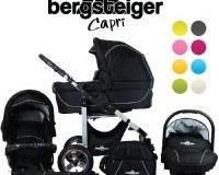 Bergsteiger-Capri-Kombikinderwagen-3-in-1---System