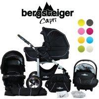 Bergsteiger Capri Kombikinderwagen 3-in-1 - System