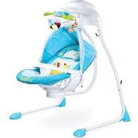 Bugies Babyschaukel Babywippe Schaukelwippe drehbarer Sitz