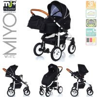 MyJunior+® Miyo Kombikinderwagen 3 in 1 White Edition