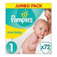 Pampers Premium Protection New Baby Windeln, Halbmonatspackung