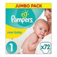 Pampers-New-Baby-Windeln,-Größe-0