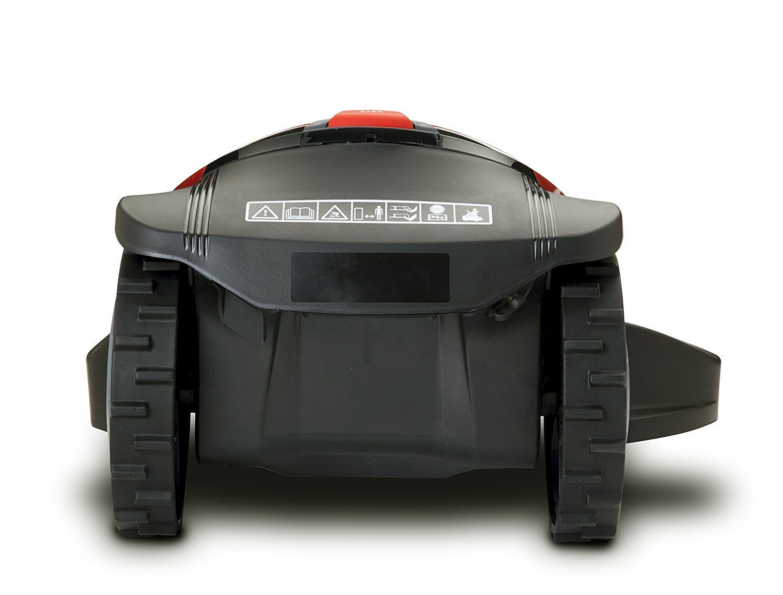 Rasenmähroboter City MC300 von Robomov von hinten