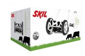 Skil-Handmaeher-Urban-Series-0721-AA-Karton-30-cm-Schnittbreite-Schnitthoehenverstellung-12-44mm-selbstschaerfende-Messer
