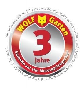 WOLF Garten 3 Jahre Garantie