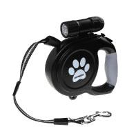 ATPWONZ Automatik-Hundeleine 8M flexi Roll-Leine für Hunde bis max. 120 Pfd