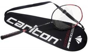 Der Badminton Schläger Carlton Powerblade Superlite - Black Deluxe Edition belegt einen guten 4. Platz.