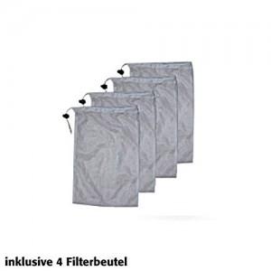 Filterbeutel sind im Lieferumfang des Gartenteichsauger Komplett-Set.