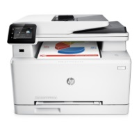 HP Color LaserJet Pro M277dw Farblaserdrucker Multifunktionsgerät (Drucker, Scanner, Kopierer, Fax, WLAN, LAN, Duplex, HP ePrint, Airprint USB, 600 x 600 dpi)