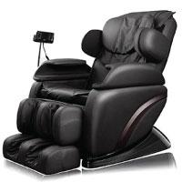 Home Deluxe Siesta schwarz Massagesessel, inkl. komplettem Zubehör