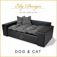 Hundesofa Hundebett Katzenbett DOG & CAT -NEU- XXL Kunstleder Luxus Couch