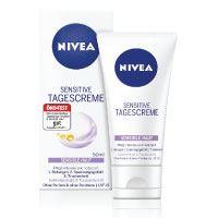 Nivea Sensitive Tagescreme, für empfindliche Haut, 1er Pack (1 x 50 ml)