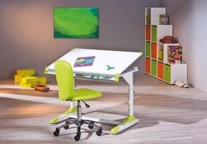 schreibtisch mit stuhl und regal experten testen. Black Bedroom Furniture Sets. Home Design Ideas