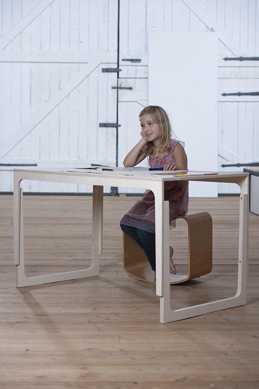 höhenverstellbare Kindertisch aus Holz und Filz Sibis Vaclav