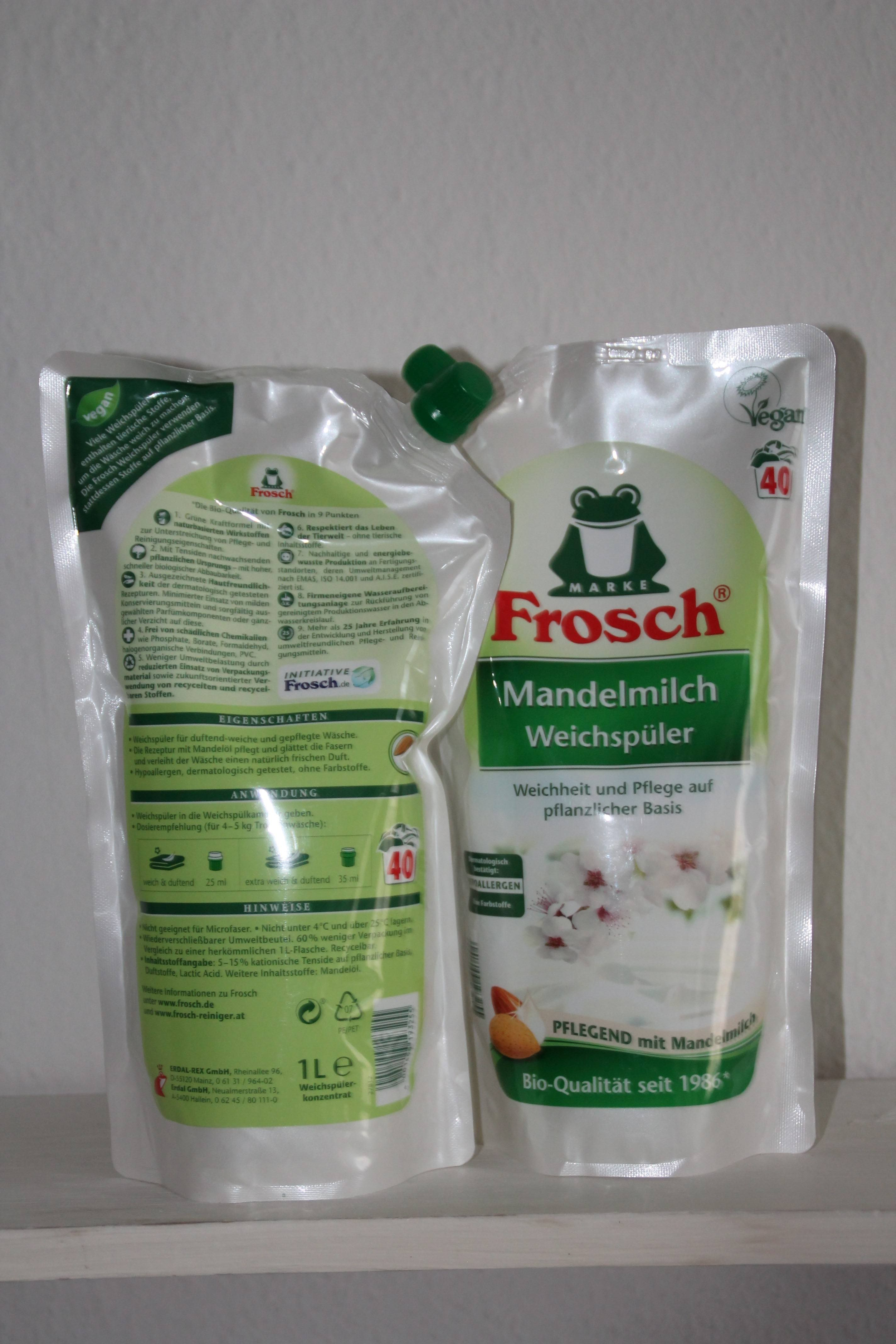 Weichspüler Frosch V E1490272433418