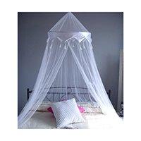 Moskitonetz -Bettüberdachung, geeignet für Einzel- oder Doppelbett.