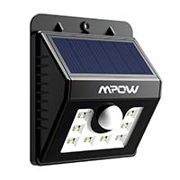 8 LED Solarlampe Sicherheits-, Bewegungs Licht Sensor mit 3 Intelligenten Modi.