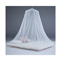 Hochwertiges Moskitonetz für Doppelbetten mit einer Größe von ca. 200 x 200 cm