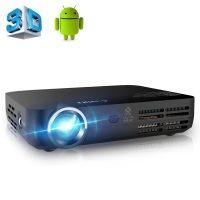 APEMAN Beamer 3D DLP Pico projector Full HD LED Projektor Heimkino mit WiFi,Android 4.4, Bluetooth 4.0, HDMI ,USB (Kontrast: 2000:1, 1280x800 Pixel, 700 ANSI Lumen)