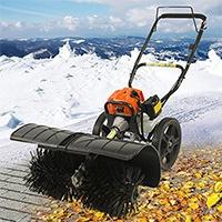 Benzin Kehrmaschine 52cc Schneefräse