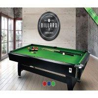 Billardtisch Pool Billard Tisch grün mit Zubehör robust 145 kg