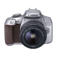 Canon-EOS-1300D-Digitale-Spiegelreflexkamera-(18-Megapixel,-APS-C-CMOS-Sensor,-WLAN-mit-NFC,-Full-HD-)-Kit-inkl.-EF-S-18-55mm-III-Objektiv-silber