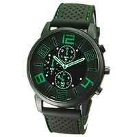Die Edelstahl Sportuhr Quarzuhr Armbanduhr ist unser Platz 10.