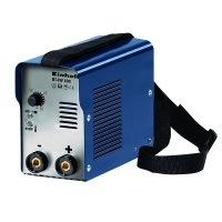 Einhell Inverter Schweißgerät BT-IW 100 (85 V, inkl. Masseklemme, Elektrodenhalter, Ventilatorkühlung, Trageriemen, leicht und kompakt)