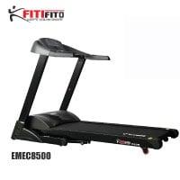 Fitifito-8500-Profi-Laufband-mit-LED-Bildschirm,-Dämpfungssystem,-5-Trainingsmodulen-inkl.-HRC---Klappbar,-Schwarz