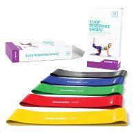 Gymnastikbänder Set Widerstandsbänder – Loop Gummi Fitnessbänder