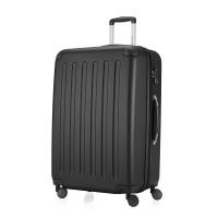 HAUPTSTADTKOFFER - Spree - Hartschalen-Koffer Koffer Trolley Rollkoffer Reisekoffer, TSA, 75 cm, 128 Liter, Schwarz