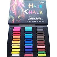Haar-Kreide-Haarfarb-Haarkreide-Färben-Haartönung-36-Farben-Hair-Chalks