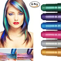 CIDBEST Haarkreide, Metallische Glitter
