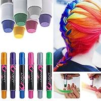 Haarkreide,-mit-6-Farben-für-den-Heimgebrauch,-Haarentfärber,-ungiftig