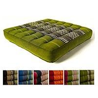 Vergleichssieger: Kapok Sitzkissen 35x35x6,5cm der Marke Asia Wohnstudio