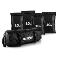 Klarfit Force Bag Power Bag Sandsack Training Set 18kg