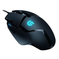 Logitech G402 Hyperion Fury FPS Gaming Mouse (mit 8 programmierbaren Tasten, USB) schwarz