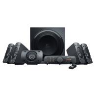 Logitech Z906 3D-Stereo-Lautsprecher THX (Dolby 5.1-Surround-Sound und 500 Watt) schwarz