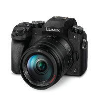 Panasonic DMC-G70HEG-K Systemkamera (16 Megapixel, 4K Video, 7,5 cm (3 Zoll) Touchscreen, WiFi)