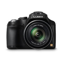 Panasonic LUMIX DMC-FZ72EG-K Premium-Bridgekamera (16,1 Megapixel, 60x opt. Zoom, 7,5 cm LC-Display, elektr. Sucher, Full HD Video)