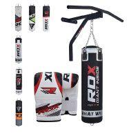 RDX Boxsack Set Gefüllt Kickboxen MMA Kampfsport Muay Thai Boxen