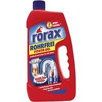 Rorax Power Gel Im Tuv Zertifizierten Test Rohrreiniger Vergleiche