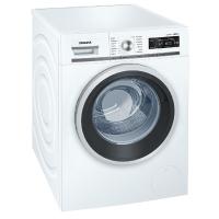 Die Siemens iQ700 WM16W540 iSensoric Waschmaschine in der Frontansicht