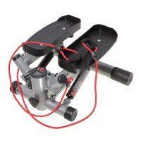 SportPlus Profi-Stepper mit Zugbändern und Trainingscomputer