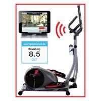 Sportstech CX610 Profi Crosstrainer mit Smartphone App Steuerung + Google Street View