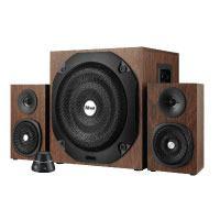 Trust Vigor 2.1 Holz Lautsprechersystem mit Subwoofer