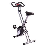 Ultrasport Racer F-Bike, Fahrradtrainer, Heimtrainer, faltbares Fitnessfahrrad
